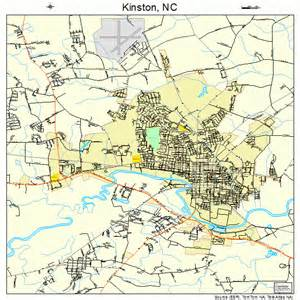 Kinston NC Map North Carolina