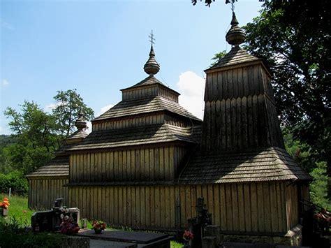 wooden churches  russia ukraine poland