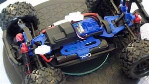 Rc Inside Ze   Latrax Teton 1  18 - Mise  U00e0 Nu    Int U00e9rieur    Chassis