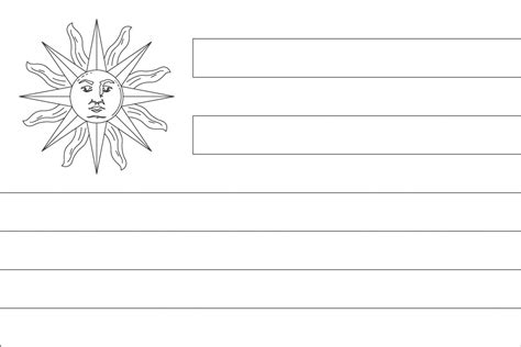 Costa Rica Coloring Page Flag Of Peru Coloring Page
