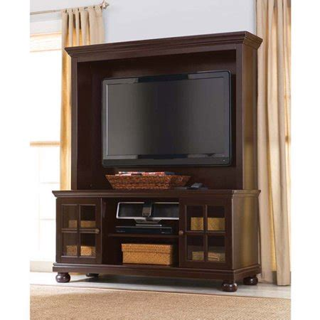 flat screen tv hutch better home and gardens 52 quot flat screen tv stand with