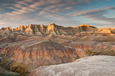 enjoy  rugged beauty  badlands national park south
