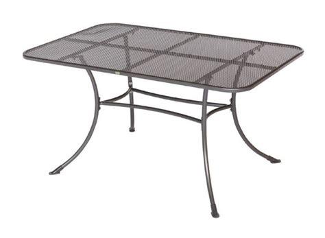 Gartentisch Rechteckig Metall gartentisch metall rechteckig gartentisch romeo aus