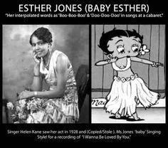 Esther Jones AKA Baby Esther. The beautiful lady Betty ...