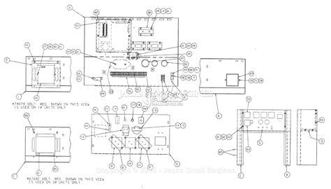 generac 0977 0 parts diagram for panel