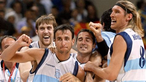 On This Date Manu Ginobili Leads Argentina Over Team Usa