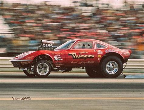 Opel Gt Drag Car by Jr Opel Wheels Rods Cars And