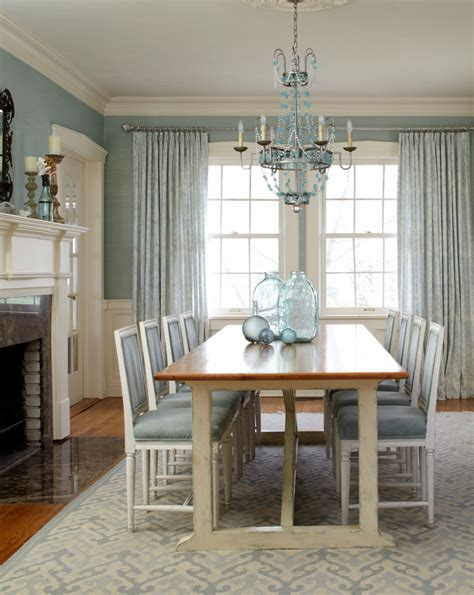 blue dining room table painted dining table dining room with blue area rug
