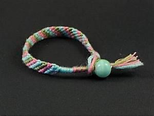 bracelet brésilien rayure pour enfant