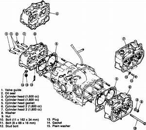 Subaru 6 Cylinder Engine Diagram