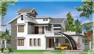 Contemporary Indian House Design Kerala Home