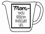 Measuring Cup Printable Template Cups Dry Templates sketch template
