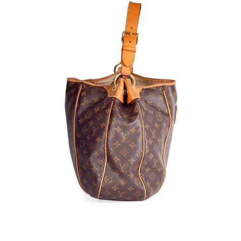 louis vuitton galliera gm  dustbag discontinued style brown monogram canvas hobo bag tradesy