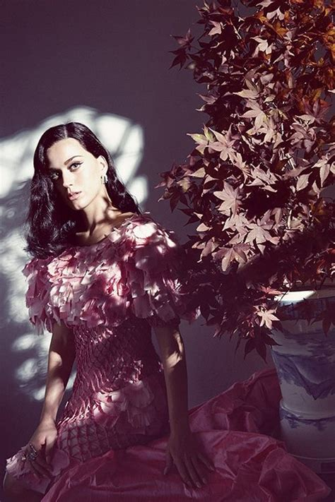 Katy Perry Harpers Bazaar October 2014 Flash And View