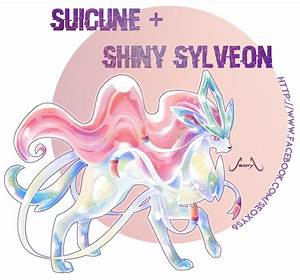 Suicune X Shiny Sylveon by Seoxys6 on DeviantArt