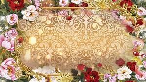 HD Wedding Backgrounds ·①