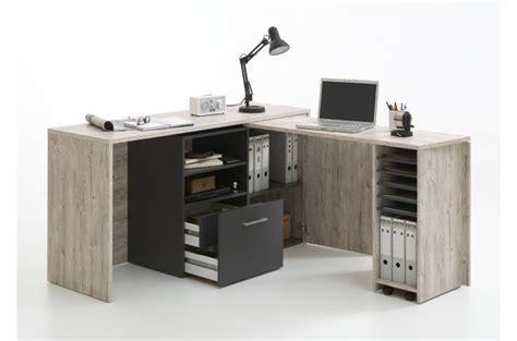 bureau d 39 angle rétractable avec rangements design sur