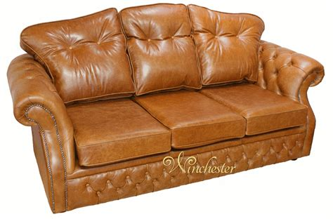 Traditional Settee by Era 3 Seater Settee Traditional Chesterfield Sofa