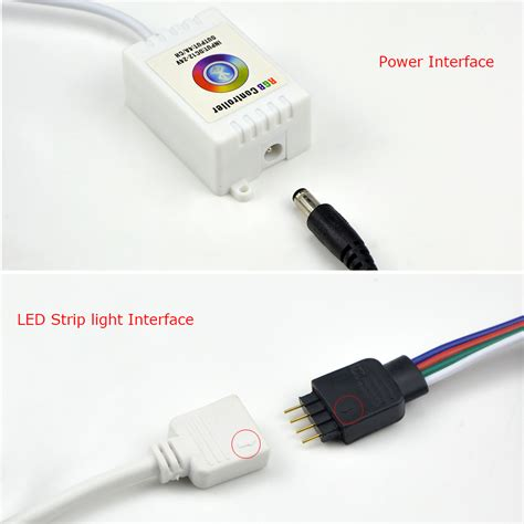 bluetooth led light strip for 5050 3014 rgb led strip light dc12 24v bluetooth led