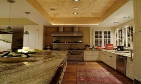 Recessed Kitchen Ceiling Ideas