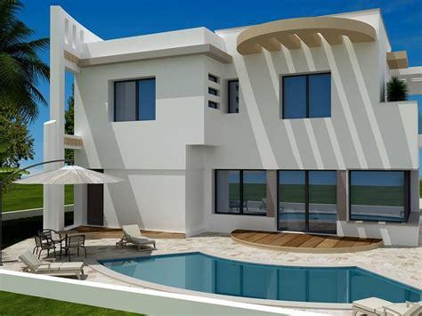 chambre en colocation vente une moderne villa non fini à craxi hammamet sud