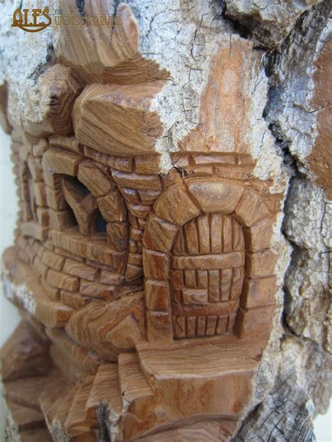 images  bark carvings  pinterest fairy