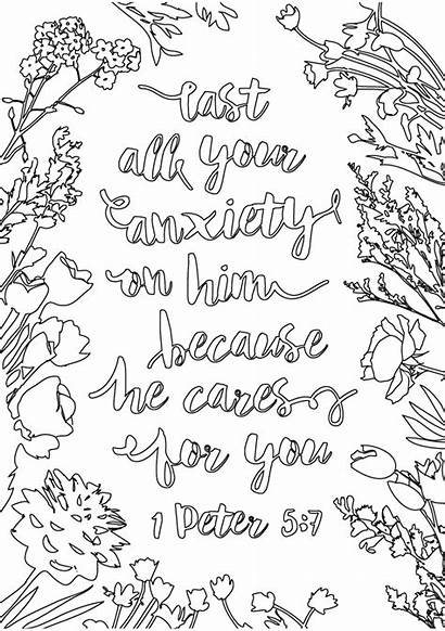 Colouring Christian Sheets Pack Portrait