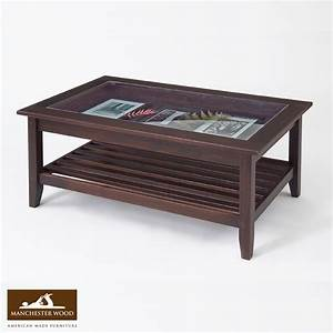 glass top display coffee table best seller the mill With solid wood glass top coffee table