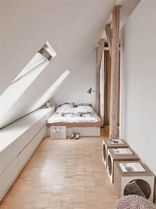 Schlafzimmer Dachschräge Gestalten : dachschr gen gestalten mit diesen 6 tipps richtet ihr euer schlafzimmer perfekt ein ~ Eleganceandgraceweddings.com Haus und Dekorationen