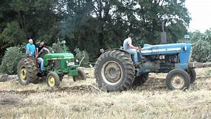 Tractores Ford 5000 John Deere 2040 Gl2