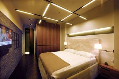 Purple Black Bedroom Decor 33 Cool Ideas For Led Ceiling Lights And Wall Lighting Fixtures 2018