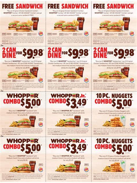 burger king printable coupons expire january