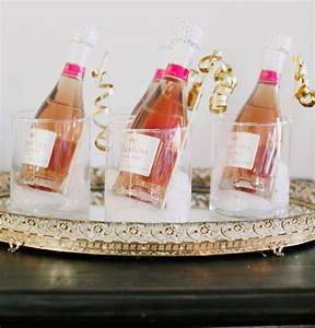 the best kind of wedding favors onewed With mini champagne wedding favors