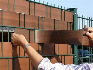 Sichtschutzstreifen Zum Einflechten : metallzaun sichtschutz mit sichtschutzstreifen zaunmeister ~ A.2002-acura-tl-radio.info Haus und Dekorationen