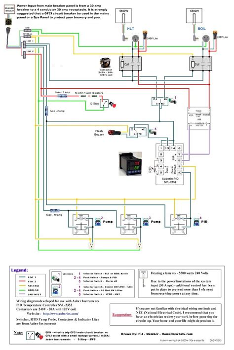 Diy 220v Wiring by 220v 30a Wiring Diagram Help Page 2 Home Brew Forums