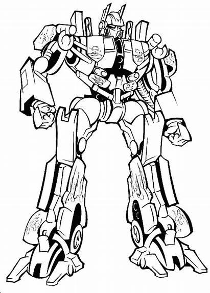 Mewarna Gambar Transformers Coloring Transformer