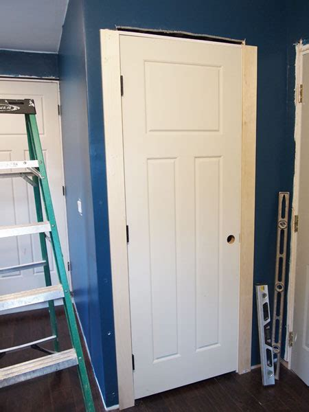 craftsman door trim tutorial