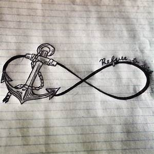 Refuse to sink anchor tattoo idea | My drawings | Pinterest