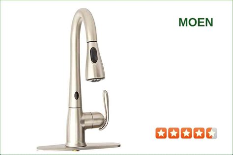 Moen Touchless Kitchen Faucet by Moen 87350esrs Touchless Kitchen Faucet Best Reviews For