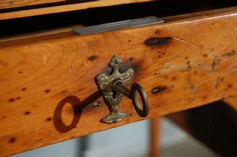 bureau directoire antique directoire pine bureau plat for sale at