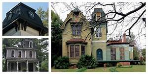 The spooky appeal of Alabama's mansard roofs, the ...
