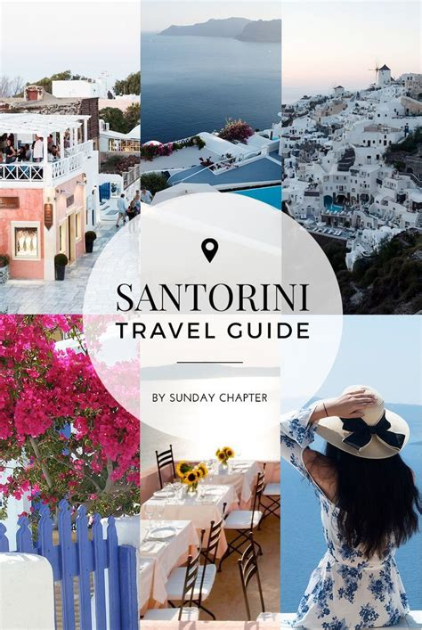 Santorini Travel Guide Santorini Travel Greece Travel