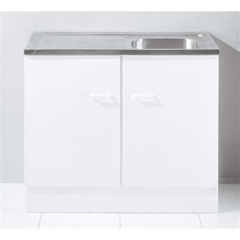 castorama meuble de cuisine evier de cuisine blanc
