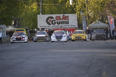 rallycross orszagos bajnoksag  evi allasa rally
