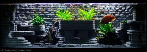Dramatic Aquascapes by Dramatic Aquascapes Diy Aquarium Background Bob Kyaw