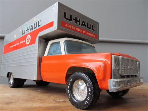 Vintage Metal Nylint Uhaul Chevy Toy Moving Truck