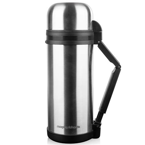 Morphy Richards Stainless Steel Flask 1.5L   Camping   B&M