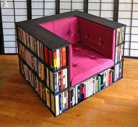 library chair  reading chair  doubles   bookcase