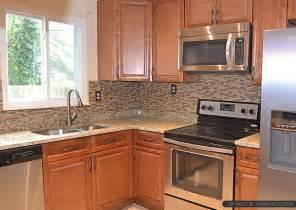 kitchen backsplash ideas with santa cecilia granite santa cecilia granite brown cabinet backsplash tile
