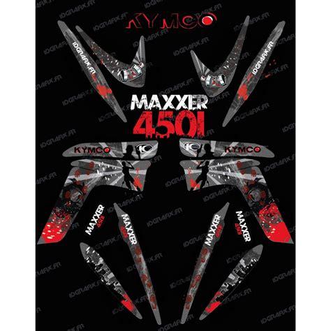 kit decoration survivor idgrafix kymco 450 maxxer idgrafix